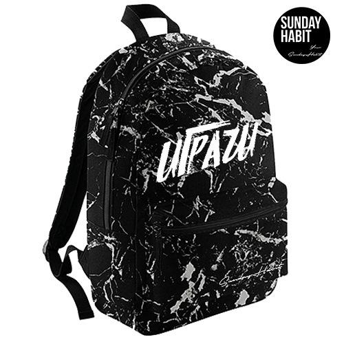 IGRACHI BRUSH Marble/Flowers backpack