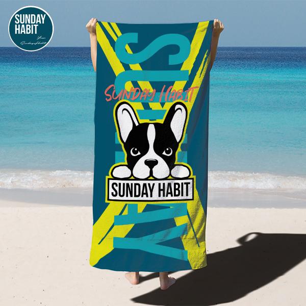 sundayhabit-beachtowel