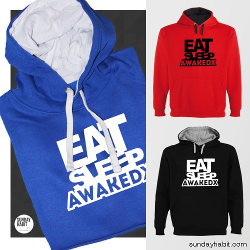 Eat, Sleep, Awakedx суичър