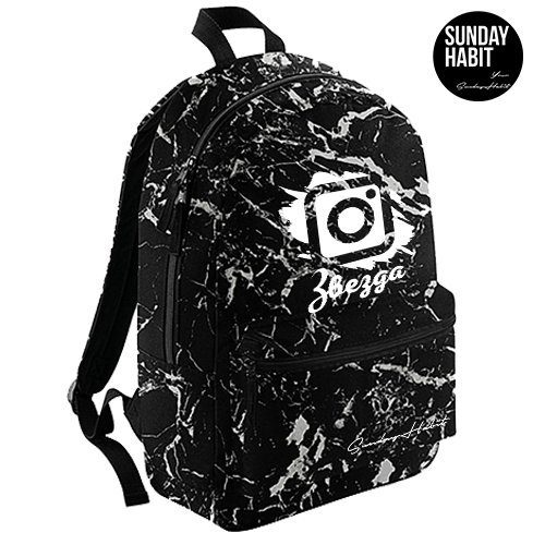 Instagram звезда Marble/Flowers backpack