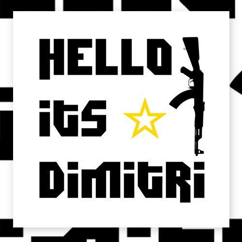Hello its Dimitri