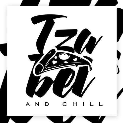 Izabel and chill - Pizza суичър с цип