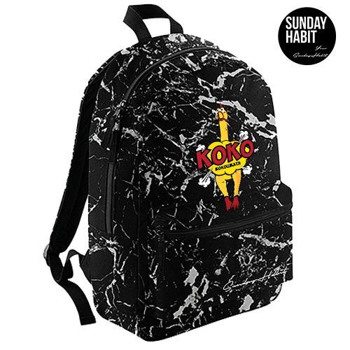 Koko Marble/Flowers backpack