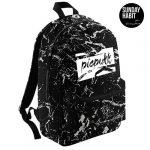 picpukk Marble/Flowers backpack