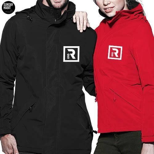 ROS logo зимно яке