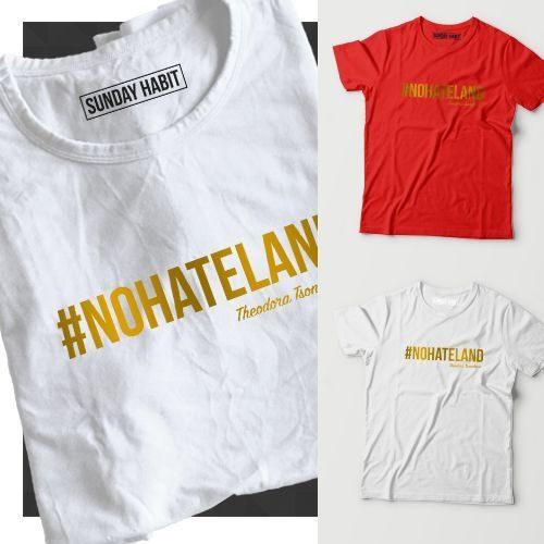 #NOHATELAND gold