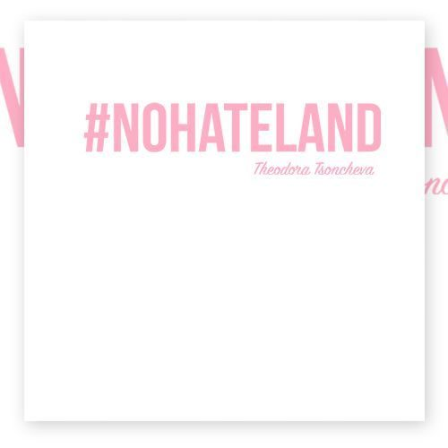 #NOHATELAND pink