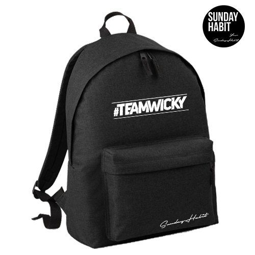 #TEAMWICKY Backpack
